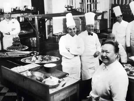 Paul Bocuse en haut à gauche - Eugénie Brazier en bas à droite - Photo DR