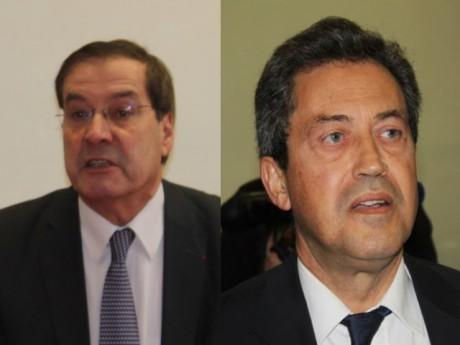 Pierre-Alain Muet et Georges Fenech - LyonMag