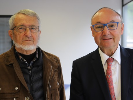 Jean Murard et Gérard Angel - LyonMag