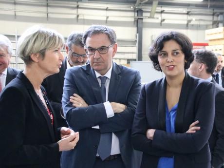 Myriam El Khomri (à droite) - Lyonmag.com