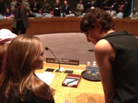 DR/Twitter La France à l'ONU