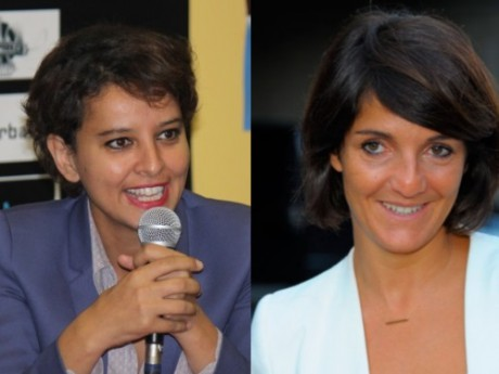Najat Vallaud-Belkacem et Florence Foresti - DR