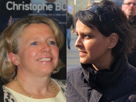 Najat Vallaud-Belkacem et Nicole Hugon - LyonMag