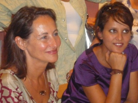 Najat Vallaud-Belkacem (à droite) - LyonMag