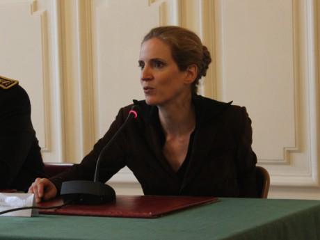 Nathalie Kosciusko-Morizet, à la Préfecture du Rhône - Photo Lyonmag.com