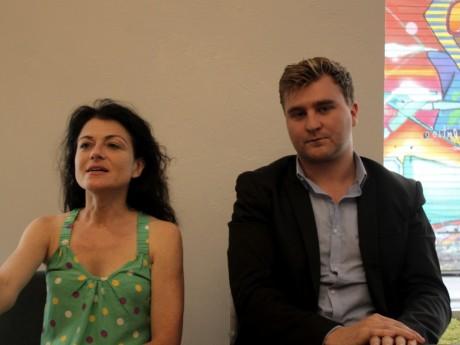Nathalie Perrin-Gilbert et Elliott Aubin - LyonMag