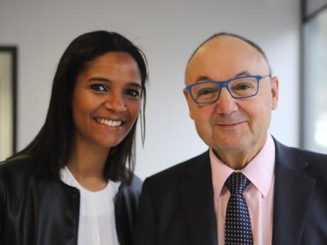 Marie-Sophie Obama et Gérard Angel - LyonMag