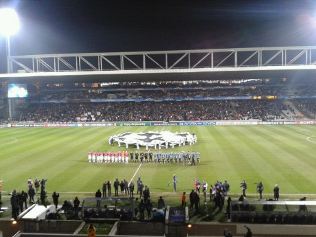 OL - Apoel Nicosie, le dernier match de Ligue des Champions à Gerland avant au moins un an (14 février 2012, 1-0) - Photo Lyon Mag
