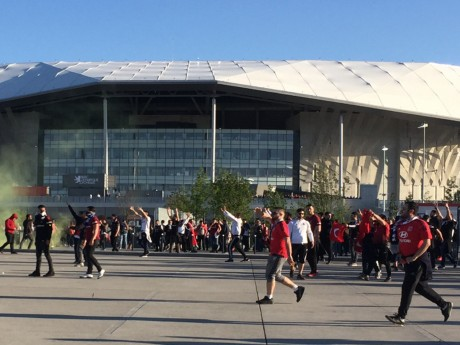 La semaine dernière, des affrontements avaient éclaté à Décines entre Lyonnais et Turcs - LyonMag
