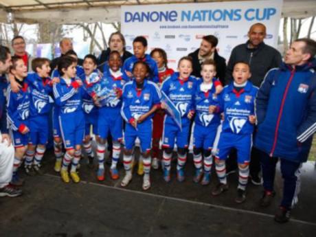 L'équipe de l'OL des moins de 12 ans remporte la Danone Nations Cup - DR