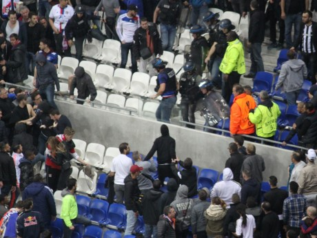 Les incidents lors de Lyon-Besiktas au Parc OL - LyonMag.com