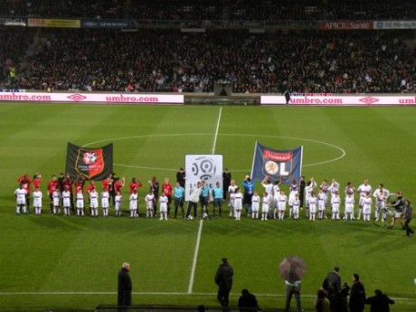 Pour son premier match de Ligue 1, Lyon affrontait Rennes - Photo DR