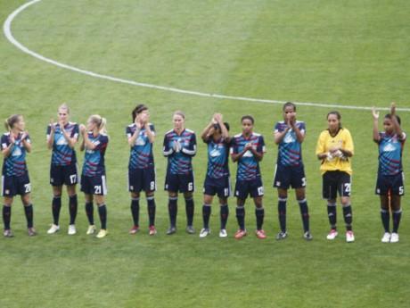 Les filles de l'OL - Photo Lyonmag.com