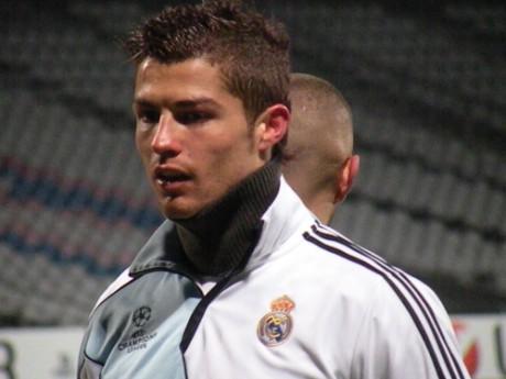 Cristiano Ronaldo avec le maillot de l'OL, ce fut possible - LyonMag