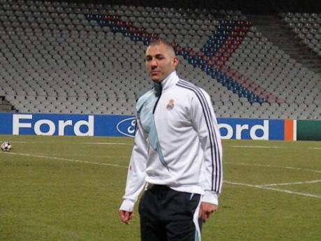 Karim Benzema lors de son retour à Gerland sous le maillot madrilène - LyonMag
