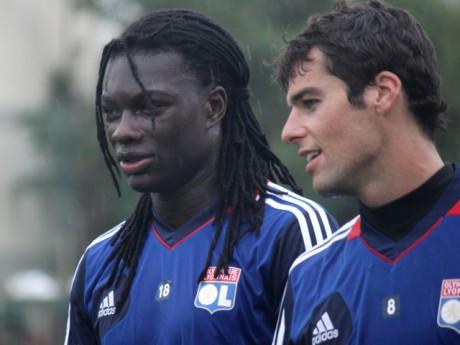 Gomis et Gourcuff en partance pour l'Angleterre? - Photo LyonMag.com