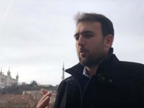 Hayk Shahinya - Capture d'écran de la vidéo de Putsch. media
