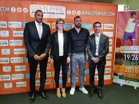 Gaëtan Müller, Marie-Camille Rey, Thierry Ascione et Yann Cucherat - LyonMag
