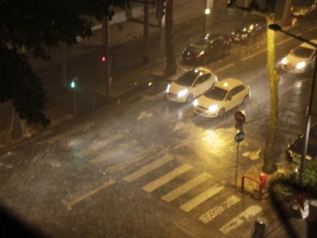 De violents orages dimanche soir sur l'agglomération lyonnaise - LyonMag