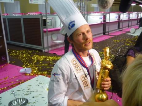 Le vainqueur du Bocuse d'Or en 2011 - LyonMag