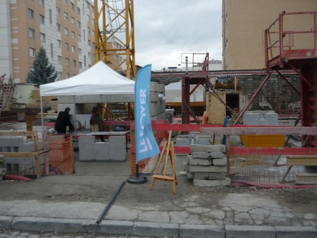 Le chantier des nouveau bâtiments, qui ouvriront en novembre 2012 - LyonMa