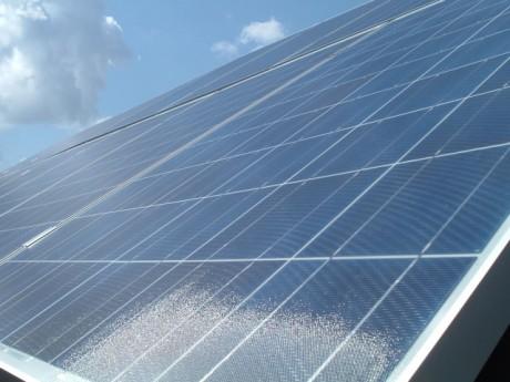 Panneau photovoltaïque - DR