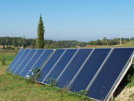 Panneaux solaires. Photo LyonMag.com
