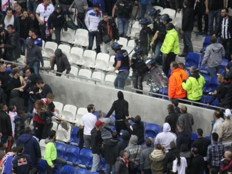 Des supporters lyonnais lors de OL-Besiktas - LyonMag.com