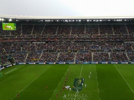 Le Parc OL lors de la finale de la Champions Cup - Lyonmag.com