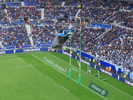 Le Parc OL en mode rugby - LyonMag.com