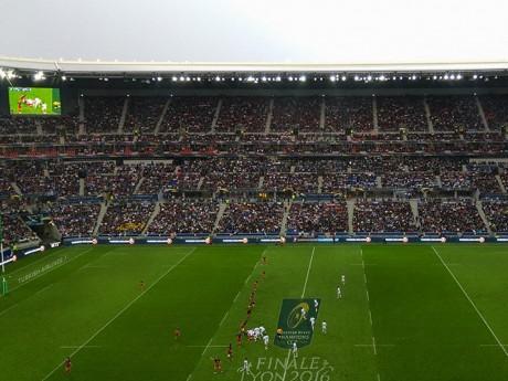 Le parc OL a déjà accueilli des matchs de rugby - Lyonmag.com