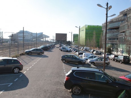 Les lieux du futur parking - LyonMag