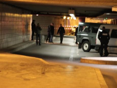 Le parking souterrain de la Part-Dieu, quelques minutes après les faits - LyonMag