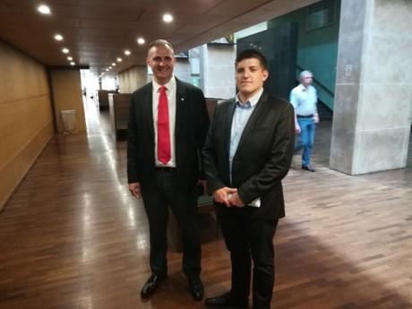 Yvan Benedetti et Alexandre Gabriac au tribunal ce lundi - LyonMag