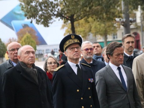 Pascal Mailhos aux côtés de Gérard Collomb et Thomas Rudigoz - Lyonmag.com