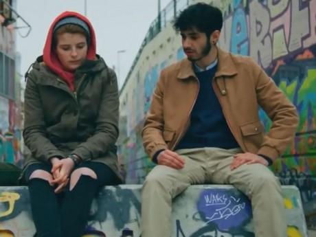 Clara (Enola Righi) et Dimitri (Jonas Ben Ahmed) dans Plus belle la vie - DR/France 3