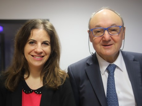 Sarah Peillon et Gérard Angel - LyonMag