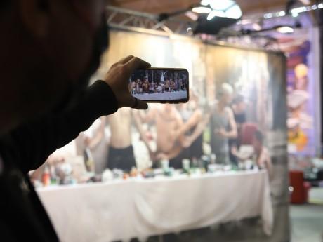 La réalité augmentée s'invite au Peinture Fraîche Festival - LyonMag