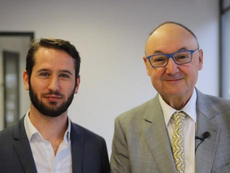 François-Xavier Pénicaud et Gérard Angel - LyonMag