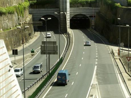 Les tunnels sur le Périphérique Nord - Photo Grandlyon.com