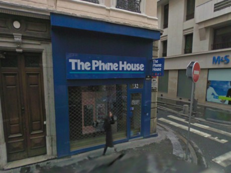 Le magasin Phone House de la rue Grenette - DR Google