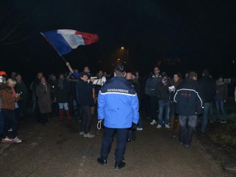 Les habitants ont manifesté à nouveau mercredi soir - LyonMag