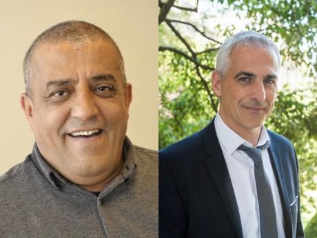 Mohsen Allali et Jean-Luc Fugit - DR