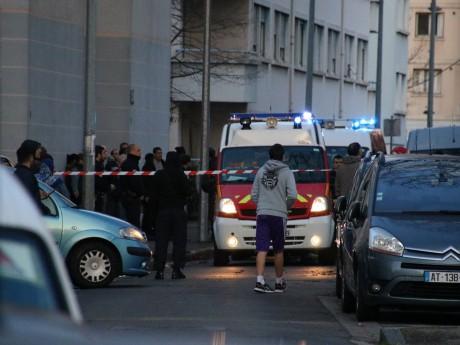 Le quartier avait été bouclé après la fusillade - LyonMag