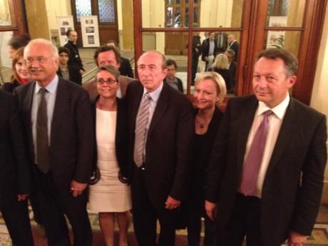 Collomb accompagné de Thierry Braillard à la préfecture du Rhône dimanche soir - LyonMag