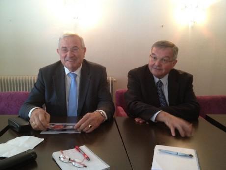 Michel Forissier et Michel Mercier - LyonMag