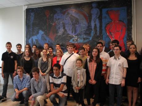 Une partie des lauréats récompensés par la rectrice de l'académie de Lyon- LyonMag.com