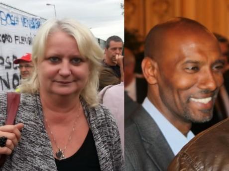 Michèle Picard et Lotfi Ben Khelifa - LyonMag