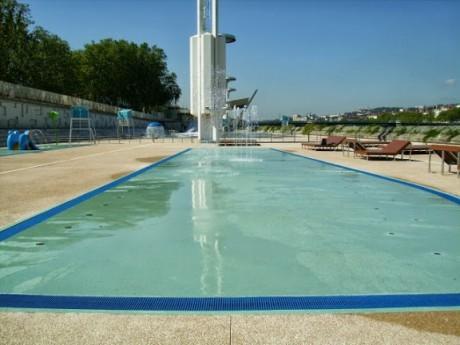 La piscine du Rhône restera vide ce mercredi - LyonMag