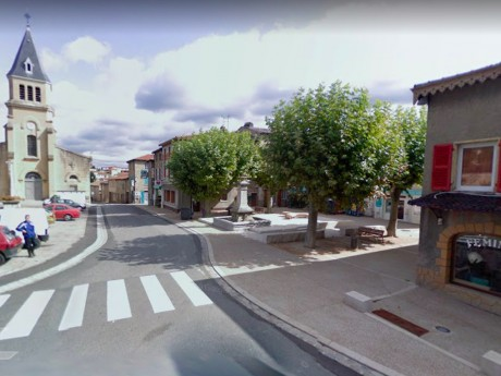 La place Dugas de Thurins - DR ©GoogleMaps